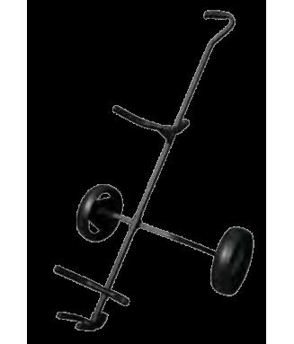 Chariot 2 roues Noir